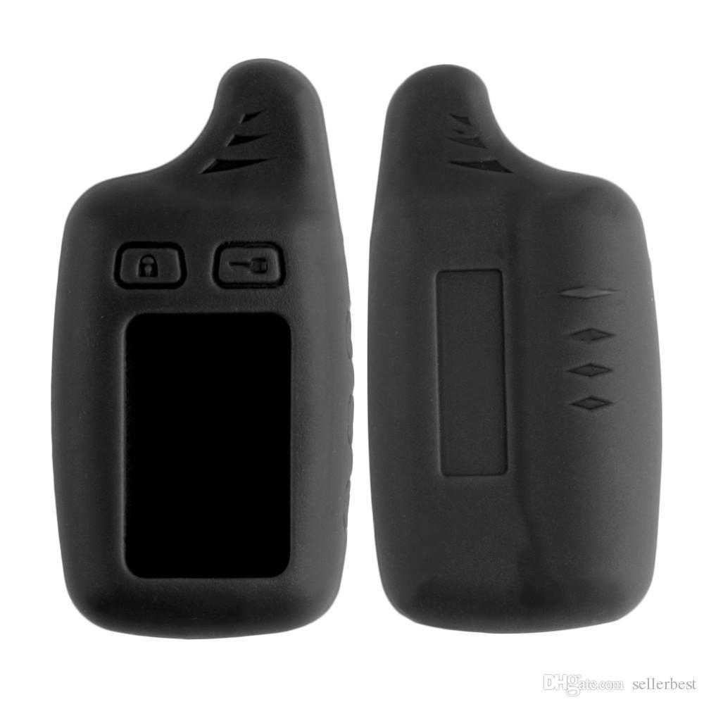 TW9010 чехол силиконовый чехол для русской версии Tomahawk TW9010 ЖК-пульт дистанционного двухсторонняя автомобильная сигнализация