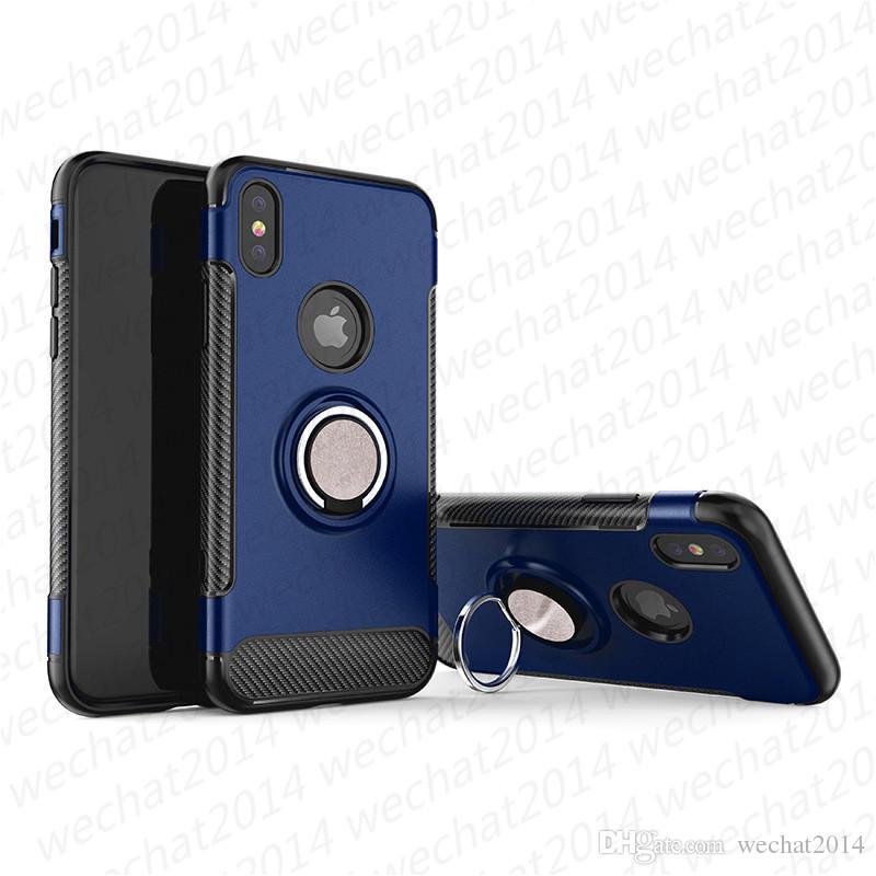 Custodia Magnetica Custodia Antiurto Custodia Antiurto iPhone X XR XS Max 8 7 Plus Samsung Galaxy Note 8 S8 S9 Plus S10 Plus S10e
