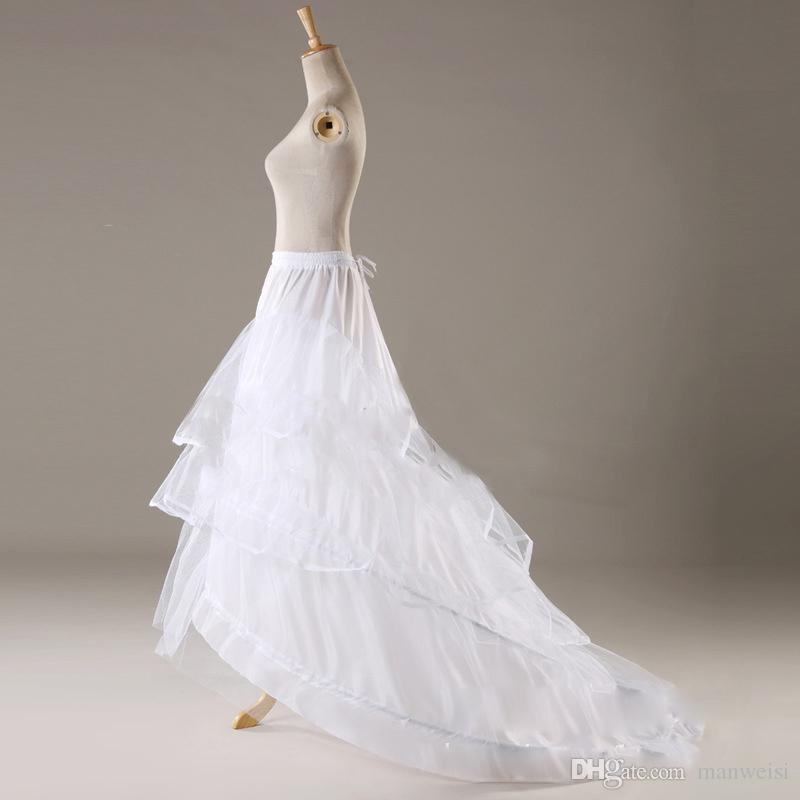 저렴한 후프 스커트 신부 Petticoats 플러스 사이즈 크리 놀린 판매 공 가운 웨딩 드레스 underskirt 저렴한 Petticoat 핫 세일
