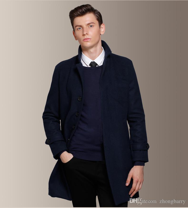 Cappotto sopra vestito uomo
