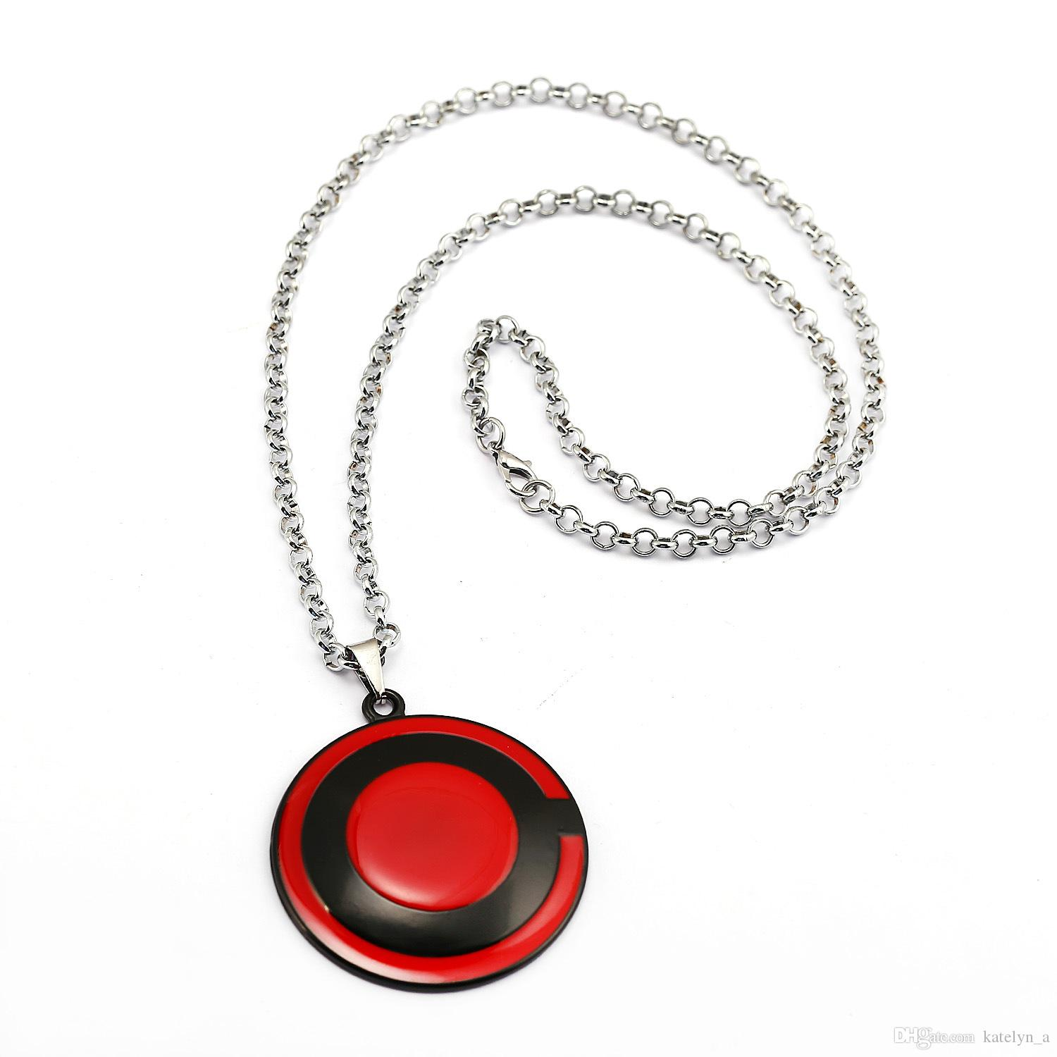 Movie Justice League Cyborg Necklace Justice Superhero Red Pendant Necklace Chocker Necklace Men Jewelry