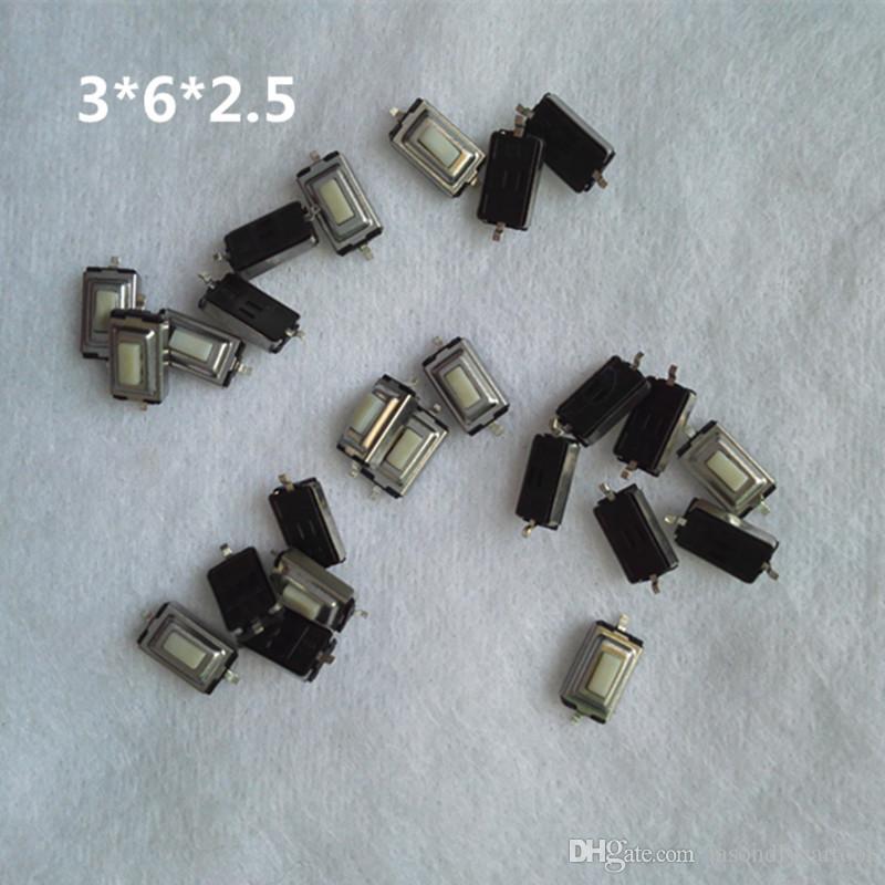 3 * 6 * 2,5mmSMD Mikroschalter Tastschalter Autoschlüsselschalter-taste Für BMW OPEL Vectra Peugeot 206 207 Fernschlüssel