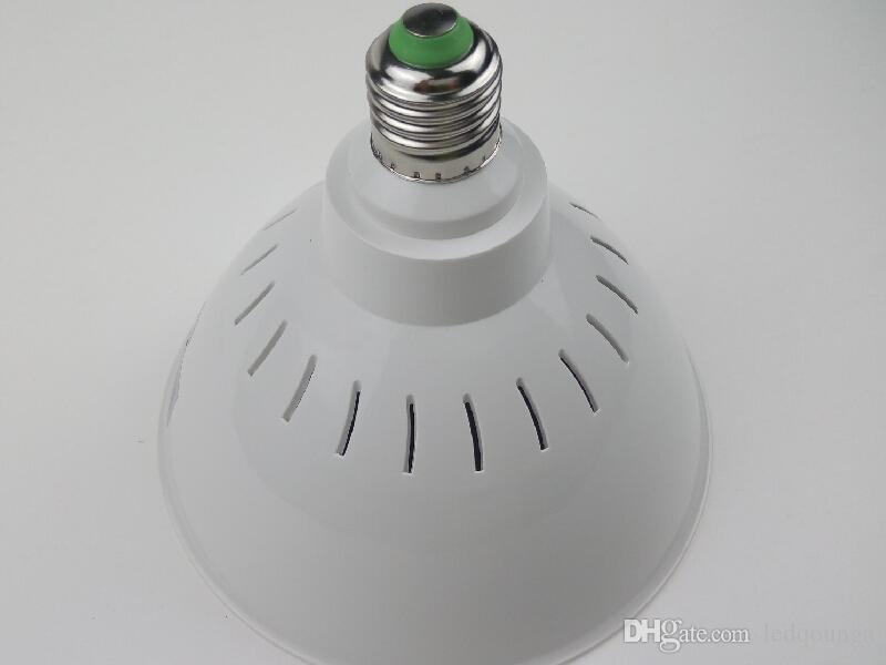 40Вт Е27 18Вт светильник плавательного бассеина Сид RGB 12В переменного тока 110В с дистанционным регулятором для Foutains водопад украшения морской среде освещения