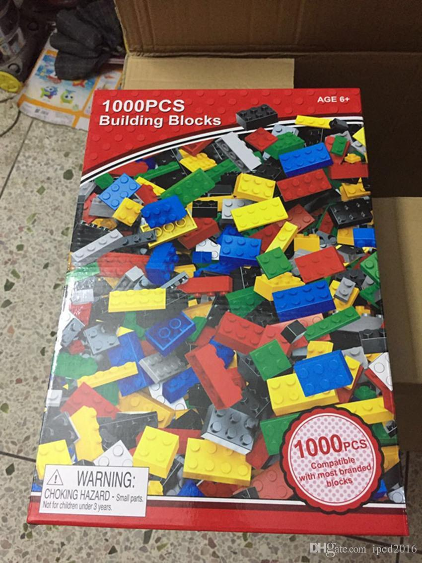 DIY Building Blocks Educational Toys ABS Material With Retail Package And Best Price For You