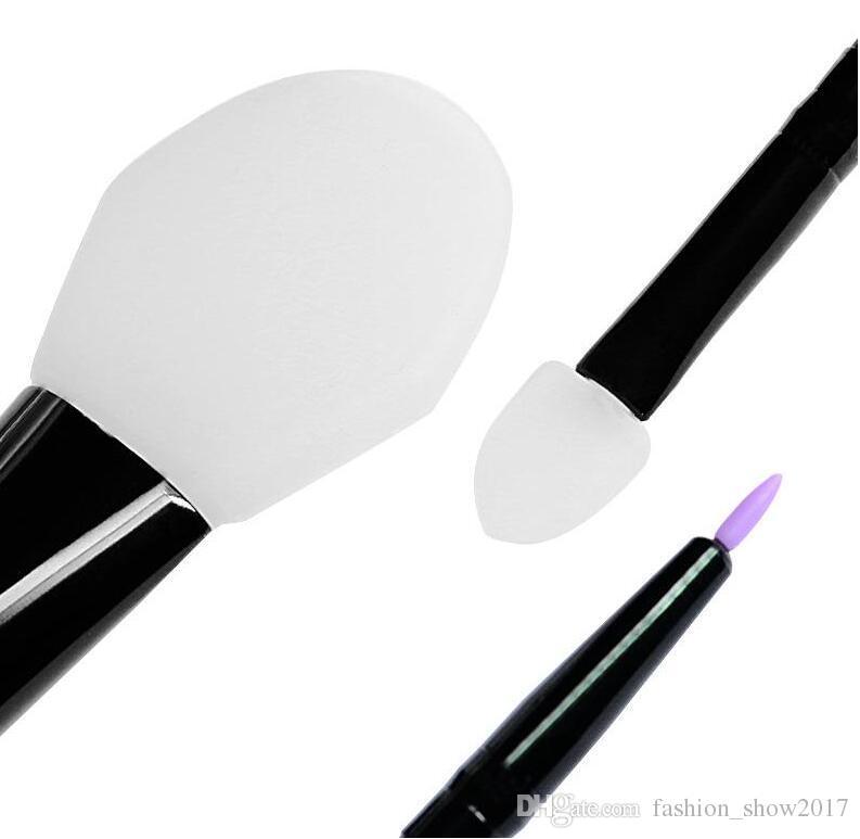 سيليكون 6 قطع فرش ماكياج كيت ل قناع الوجه السائل مؤسسة ظلال العيون الحاجب كحل bb كريم ماكياج فرش