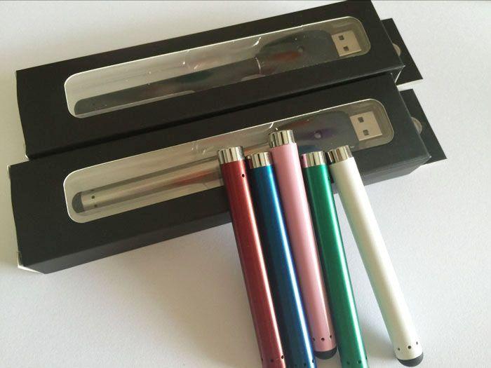 O-pen CE3 vape bud touch batería con cargador USB Blister Pack 280mAh e cig 510 hilos e cigarrillos para vaporizador de cartucho de aceite de cera