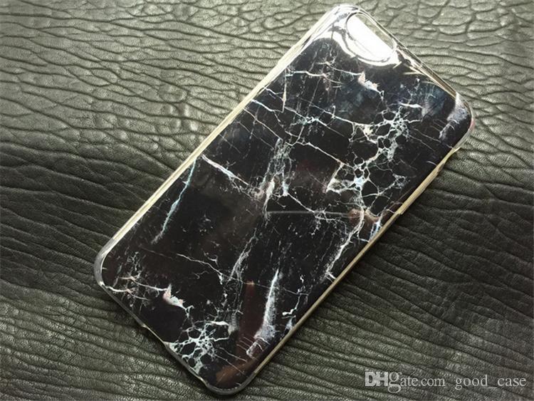 iphone 7 Retro Marble Patten case granite Stripe Rock stone design image Painted cases TPU cover for iphone 7 4 4s 5c 5 5s SE 6 6S PLUS hot