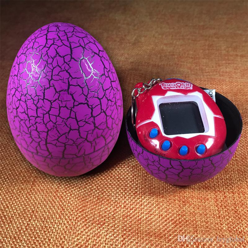 2017 New Tamagotchi Toys Colorful Electronic Great Tamagochi Pets Toys With Tumbler Egg Shape Packaging Christmas Gift For Kids