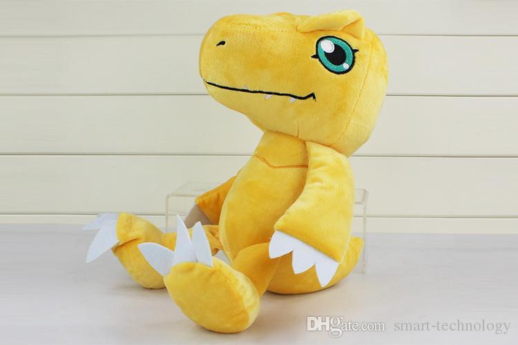 Anime Digimon Adventure YAGAMI TAICHI Agumon Plush Toys Soft Stuffed Dolls Kids Gift New whoesale