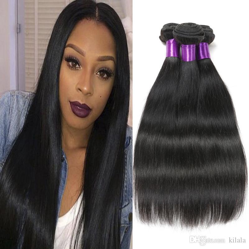 Virgin Remy Straight Hair 8a Best Peruvian Indian Brazilian