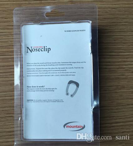 Silicona Anti Ronquido Magnético Dejar de Roncar Clip de Nariz Ayuda para Dormir Apnea Guard Night Dispositivo con Estuche