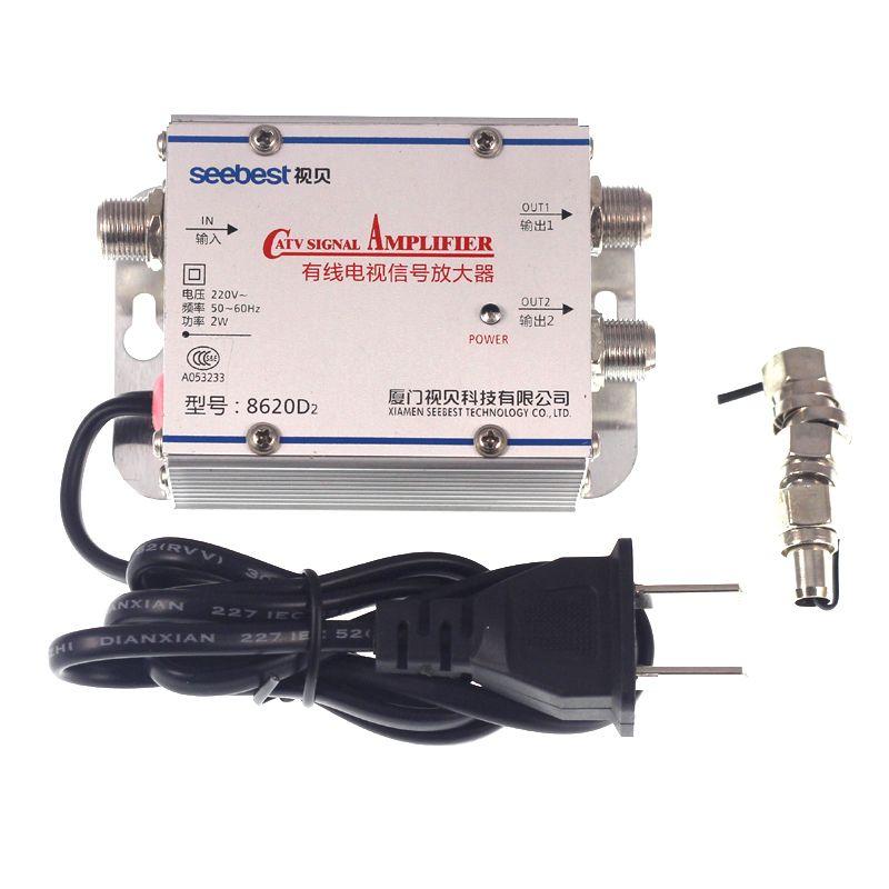 v Receivers Radio TV Broadcasting Equipment TV CATV Antenna Broadband  Signal Amplifier AMP Booster sdr radio rf modulator broadcast e4000