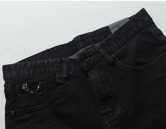 NOVA chegada homens shorts calça roupas verão calções marca maré europeia moda hiphop dos homens magros buraco fina maré sólida calças jeans calções