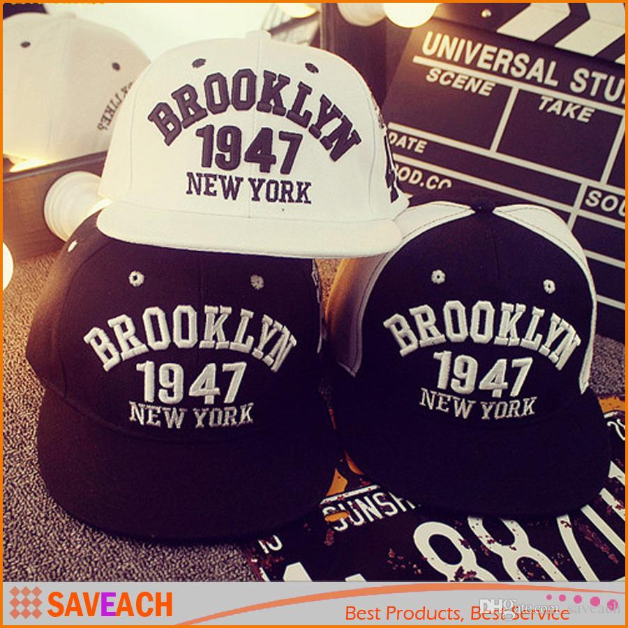 Brooklyn 1947 New York Style Baseball Cap Sport Hat Gorras Planas Snapback  Caps New York Hip Hop Hats Snapbacks Casquette Polo Cap Ny Caps Ball Cap  From ... c6836a443ce
