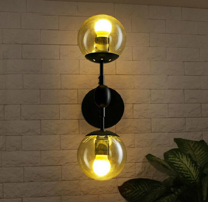 2018 magic lamp smart led wall sconce led lights e27 wall lights 2018 magic lamp smart led wall sconce led lights e27 wall lights tom dixon wall lamp metal quality with glass globe 2 heads tt2017016 from gl168 mozeypictures Gallery