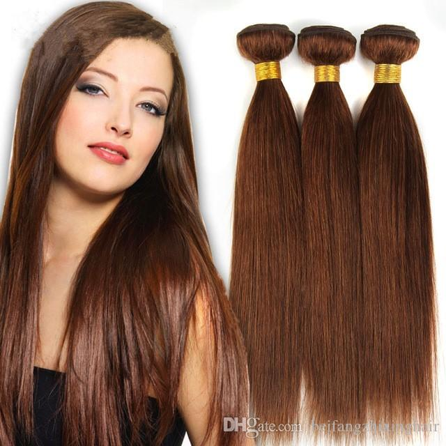 Cheap large discount grade 7a6 light brown brazilian virgin cheap large discount grade 7a6 light brown brazilian virgin remy hair silky straight weave chocolate mocha straight human hair bundles human weave hair pmusecretfo Image collections