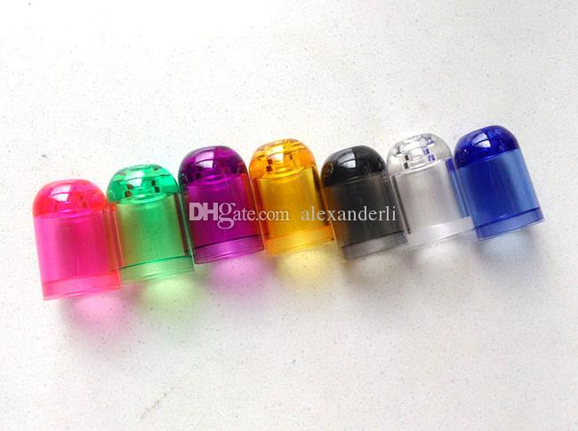 Factory Price Subtank Mini Bell Cap Replacement Caps Tanks Acrylic Tube For Subtank Mini Atomizer E Cig Subtank Mini Bell Caps DHL