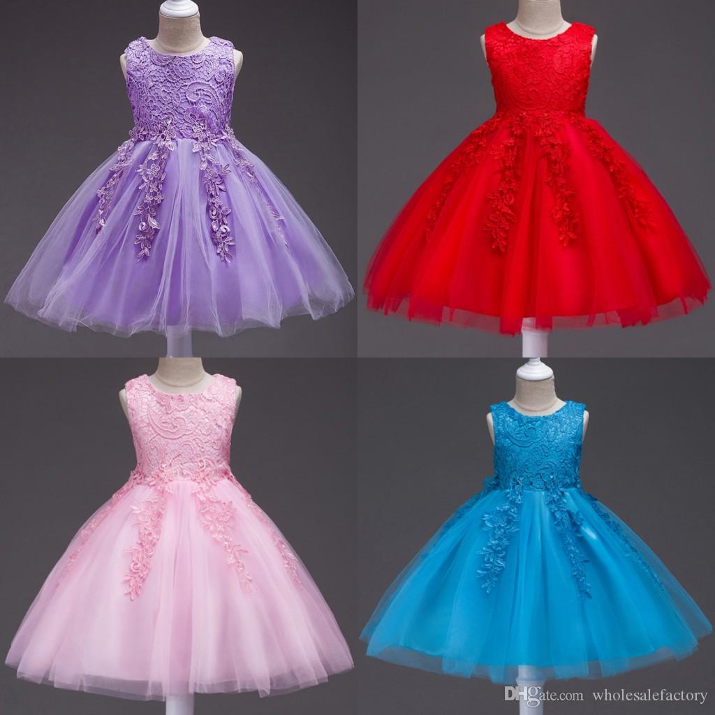 A Line Pageant Dresses