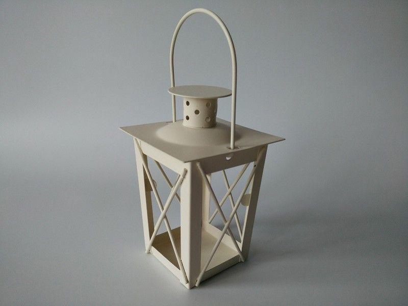 Weiß / Schwarz Metall Kerzenhalter Eisen Laterne Hochzeit Kandelaber Kandelaber Mittelstücke marokkanische Laternen Kerze Laterne Hochzeit