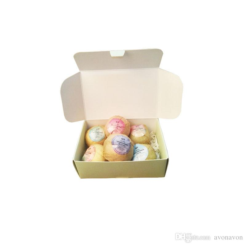 hot Bubble Bath Bombs Gift Set Rose Lavender Oregon Essential Oil Lush Fizzies Scented Sea Salts Balls Handmade SPA Gift