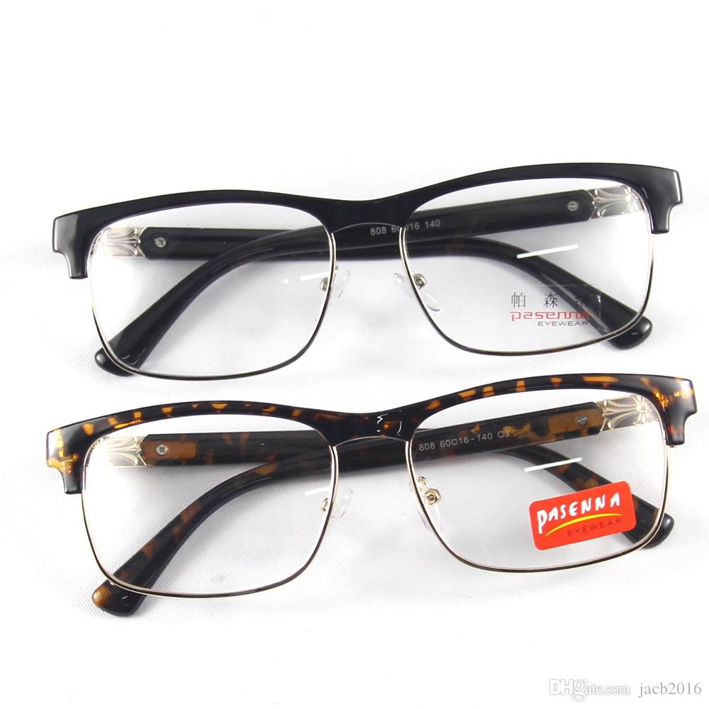 5a903aaa317 2019 Brand New Vintage Glasses Eyewear Eyeglasses For Men Women Fullrim  Frame Spectacles Optical Clear Demo Lenses Oculos Black Bookworm Leopard  From ...