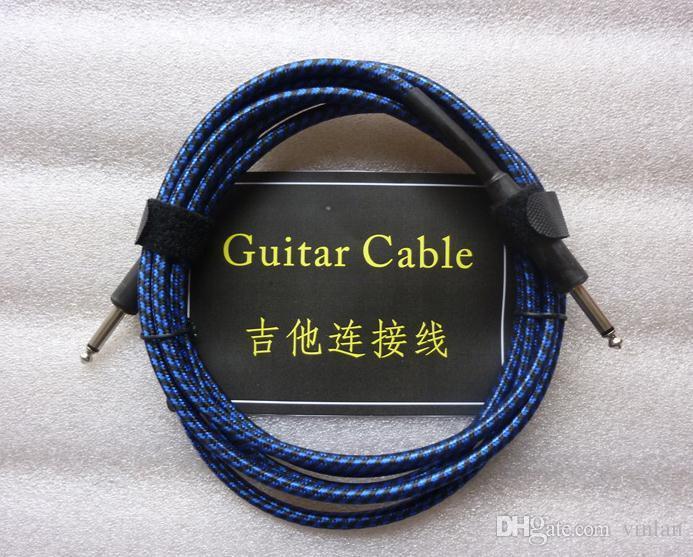 Hochwertige musikinstrumente teile 3 mt Audio Kabel Gitarre Verstärker Kabel Gitarre Pedal Kabel gitarre zubehör