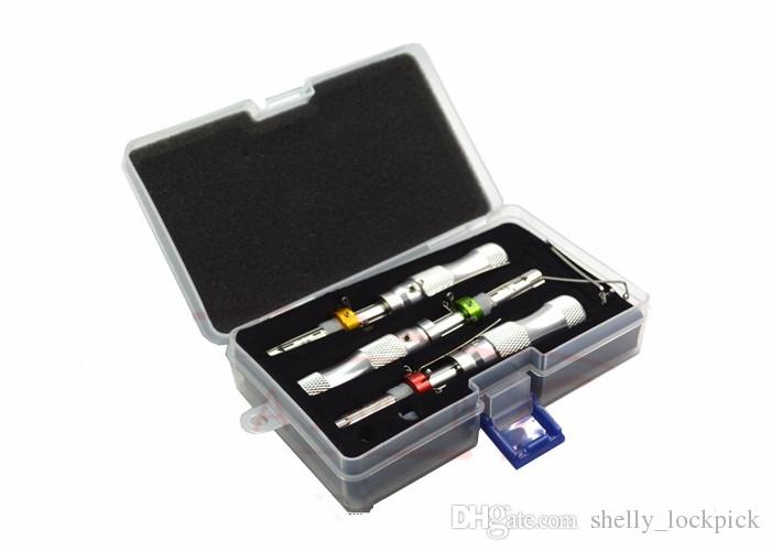 KLOM 7 Pin Gelişmiş Boru Kilit Seçim 7.0mm 7.5mm 7.8mm Uzatılmış Kapı Kilidi Açacağı Çilingir Araçları