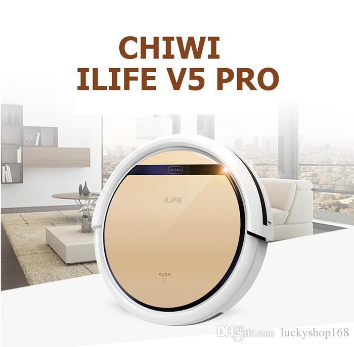 ILIFE Böcekleri V5 V5PRO V7 V7S Robotik Süpürge Islak Kuru Ev ev temizlik Çift Filtre Ciff Sensörü Kendini Şarj Akıllı ASPIRADOR