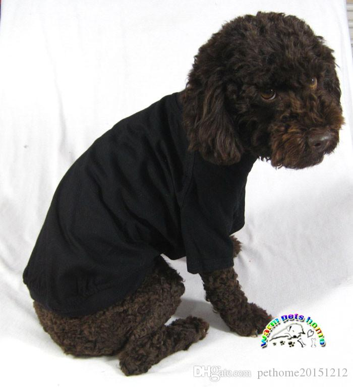 Dogs pets clothing blank dog shirts cotton XXS dachshund dog clothes kitten clothes dog apparel