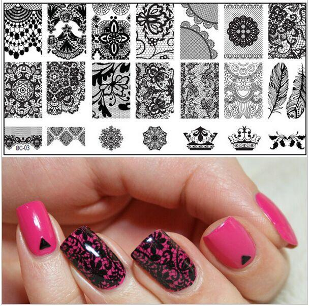 Konad Stamping Nail Art Polish Hession Hairdressing