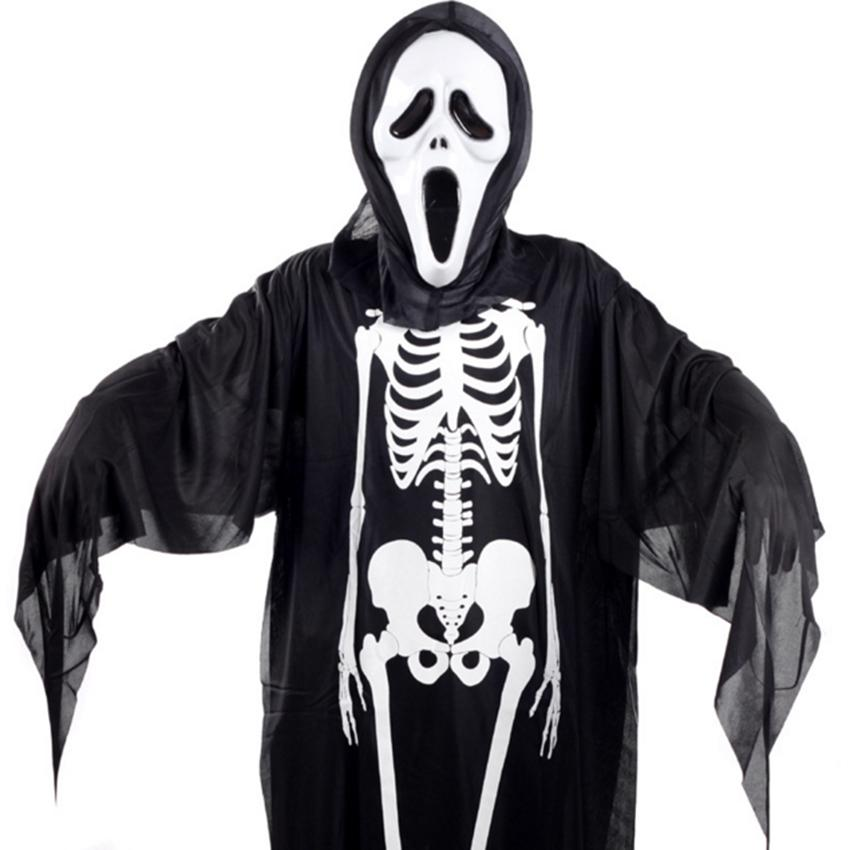 Adult/ Children Scary Halloween Cosplay Costume Sets 1 Pvc Horror ...