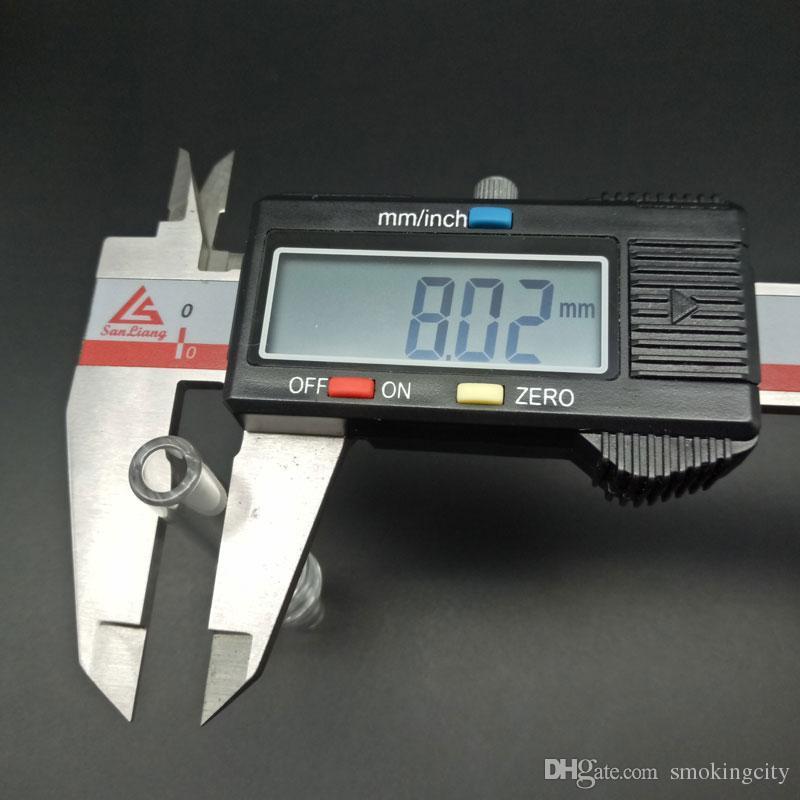 DHL di spedizione libero !!! 10 millimetri 14 millimetri 18 millimetri 19 millimetri quarzo suggerimento il Mini NC kit con le clip libera Keck quarzo Banger chiodo capovolge quarzo