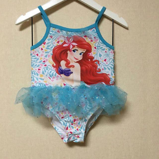 Best 2016 Flower Girls Kid Beauty Mermaid Sequin Tankini Swimsuit