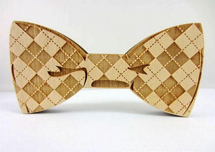 HOT Wood Bow Laços Goodwood 8 estilos Handmade Do Vintage Bowknot Tradicional Para O Casamento Do Cavalheiro De Madeira Bowtie Livre Fedex TNT