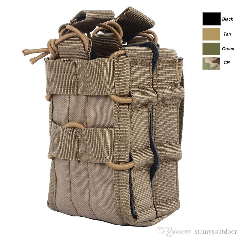 Discount Outdoor Sports Tactical Backpack Vest Gear Accessory Mag Amazing Outdoor Magazine Holder