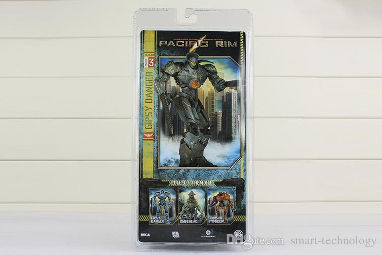 NECA Pacific Rim Jaeger Tacit Ronin and Gipsy Danger PVC Action Figure Collection Toy 2 styles