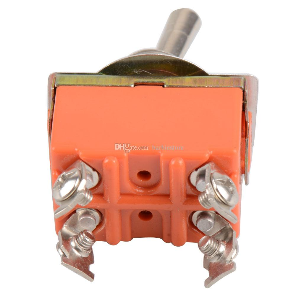 Interrupteur à bascule 4 broches ON-OFF Interrupteur à deux positions 15A 250V B00140