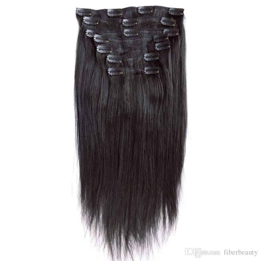 Cheap Clip In Human Hair Extensions Brazilian Human Weave Brazilian