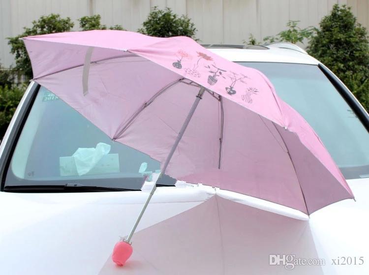 50 adet / grup Parfüm şemsiye / şarap şişesi şemsiye, mix sipariş Gül Vazo şemsiye, japon şemsiye