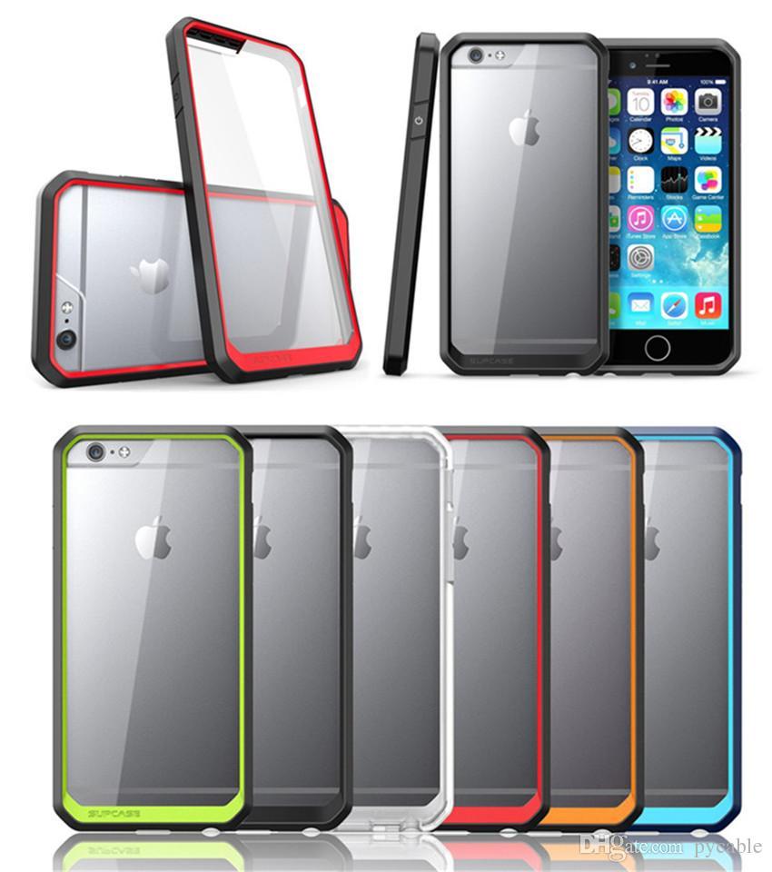 brand new fc940 8a7e8 Supcase для iPhone 5s 6 / 6s 6 / 6s плюс яблоко 6splus Прозрачный жесткий  корпус для сотового ...