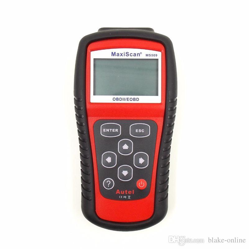 MaxiScan Herramienta de diagnóstico MS509 Autel MS OBDII OBD2 EOBD Lector de código automotriz Escáner de trabajo para EE. UU. Coche europeo asiático