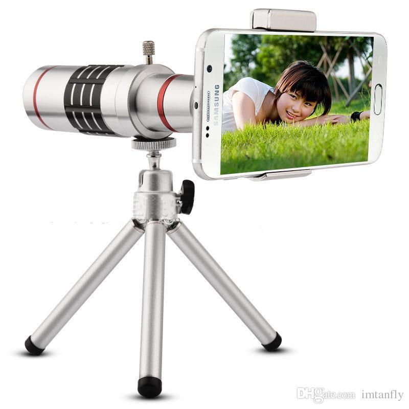 universal 18x phone camera zoom telescope lens moblie phone telephoto lens tube for iphone samsung xiaomi vivo