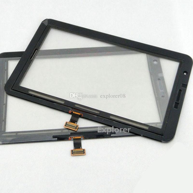 OEM pour Samsung Galaxy P1000 Onglet 2 7.0 P3100 P3110 P3113 VS Plus P6200 Écran Tactile Digitizer Verre + Remplacement Adhésif