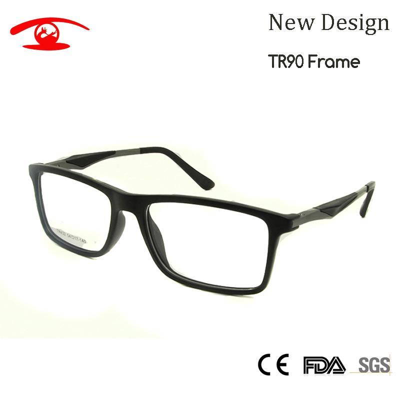 a15416d89ba 2019 Wholesale NEW High Quality TR90 Glasses Frame Men Square Nerd Glass  Prescription Eye Lenses Mens Eyewear Frames From Harveyi