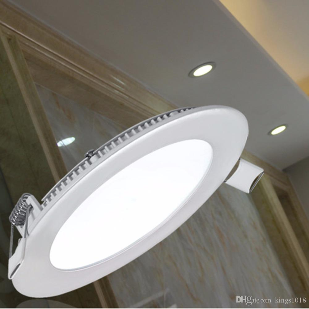 6w ultra thin dimmable led recessed ceiling panel down lamp warm 6w ultra thin dimmable led recessed ceiling panel down lamp warmcool light ceiling lights 6w ultra thin dimmable led recessed cei online with 164piece mozeypictures Image collections