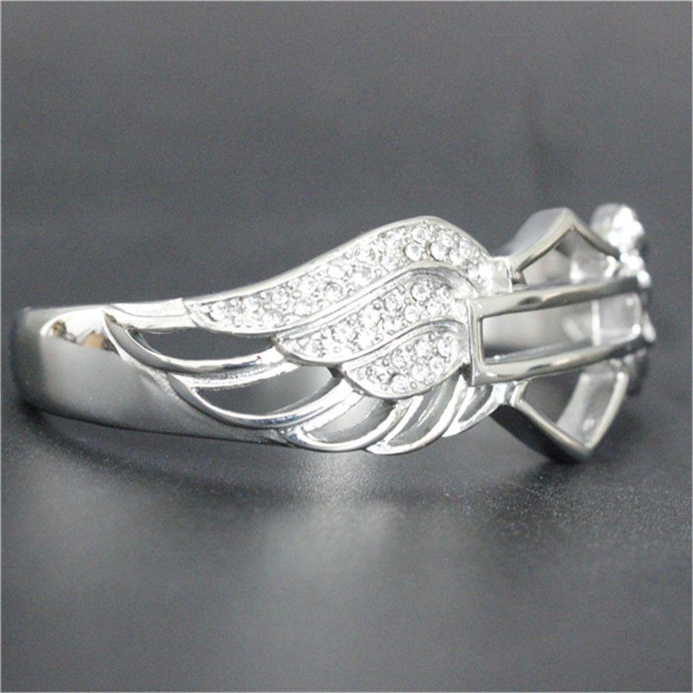 Braccialetto di cristallo del motociclista di modo più nuovo di Dropship di disegno più nuovo del braccialetto 316L dell'acciaio inossidabile dei monili di modo delle ragazze della signora