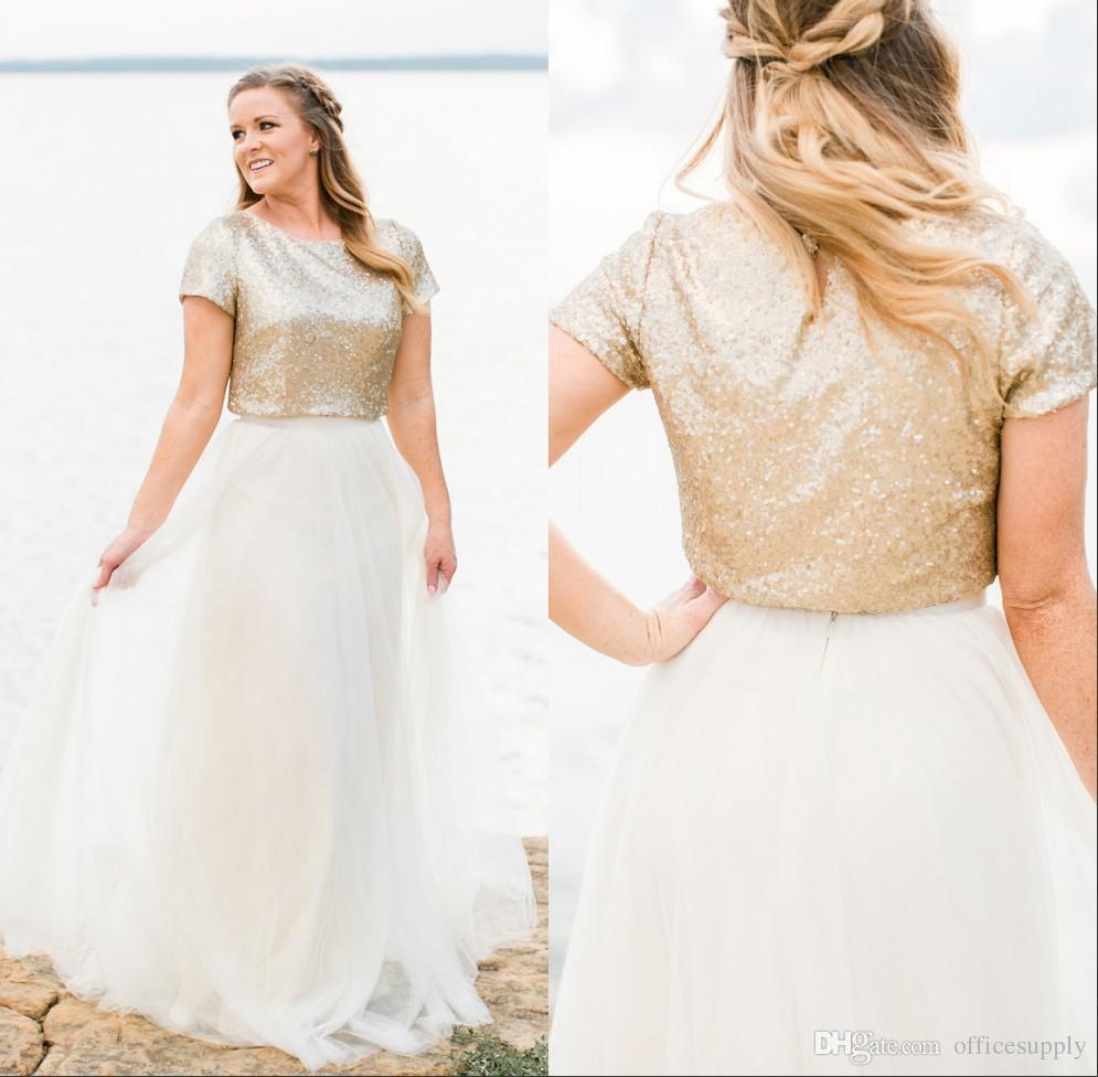 Cheap Pink Black Camo Wedding Dresses Discount Coral Sash For Dress: Short Gold Lace Wedding Dresses At Reisefeber.org