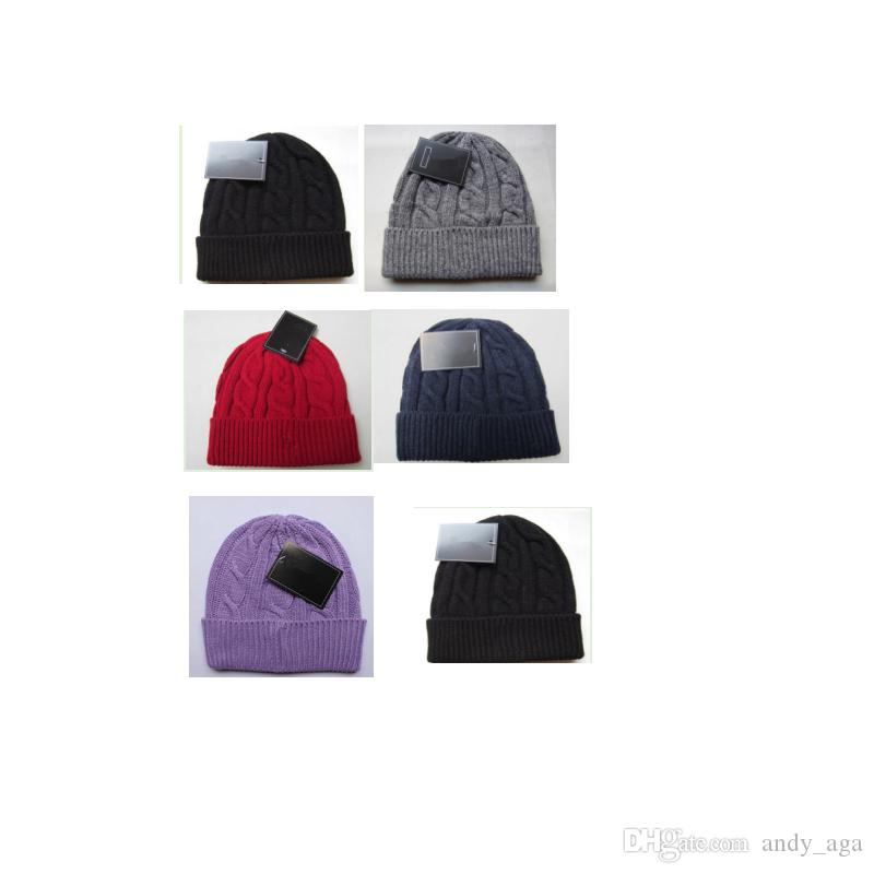 a43ddb72981c1 2017 Fashion Unisex Spring Winter Hats for Men Women Knitted Beanie ...