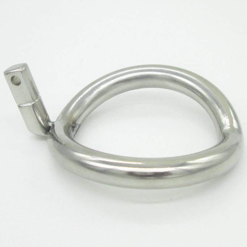 Chastity Device Ring NEW Super Small Stainless Steel Male Chastity Device Cock Cages Additional Ring Cock Ring Size Choose Adult Sex Toys