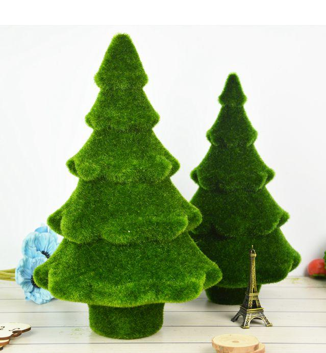 Artificial pine trees fake flower plant komatsu moss pine tree table artificial pine trees fake flower plant komatsu moss pine tree table display needles christmas home and wedding decor artificial flowerswedding mightylinksfo